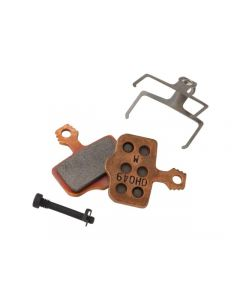 SRAM Elixer X0 sintered steel disc brake pads-Brown