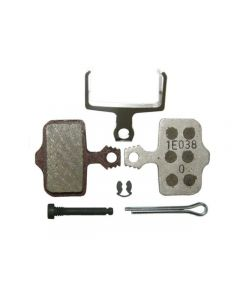 SRAM Elixer organic alu disc brake pads-Silver