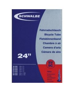 Schwalbe SV9C innertube-Black-24x1.00