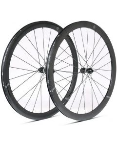 Ere Explorator GC45 alu disc wheelset-Black