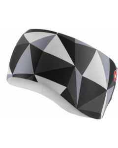 Castelli Triangolo ladies headband-Black-White