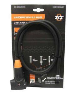 SKS slang met multivalvehead forr Airkompressor 12.0-Black