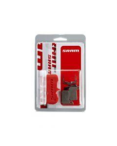 SRAM Road, Level Ultimate en Level TLM sintered disc brake pads-Silver
