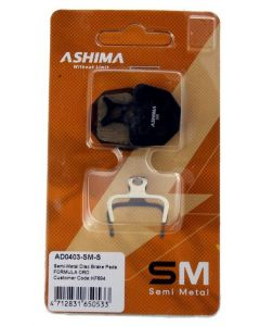 Ashima schijfremblokken Formula Oro AD0403-SM