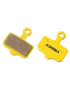 Ashima Avid Elixir AD0704-CE ceramic disc brake pads-Yellow