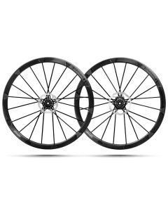 Lightweight Wegweiser Evo SRAM 12 AXS/ XDR clincher disc wiheelset-Carbon