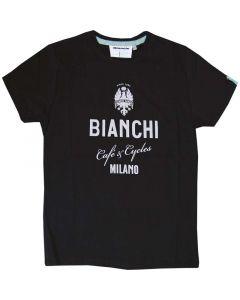 Bianchi Cafè & Cycle T-shirt ss