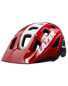 Lazer Impala helmet-Red-White-M