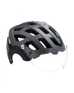 Lazer Anverz NTA + Led helmet-Matt titanium-M