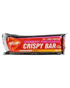 Wcup Crispy Bar energybar-Cranberry-Pomegranate-40gr