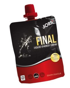 Born Final Liquid Energy Drink gel-Citroen-90gr