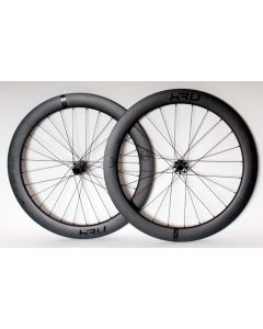KRU C-60D carbon disc wheelset-Black