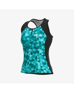 Alé Solid Triangles ladies tank top
