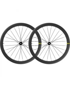 Mavic Cosmic SL 45 UST carbon disc wheelset-Black-19