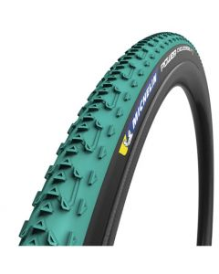 Michelin Power Cyclocross Jet TLR Folding tire-Green-Black-700x33