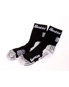 Santini SP651 Dry Lepur socks-Black-M/L