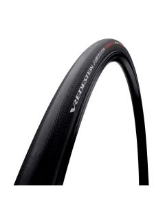 Vredestein Fortezza TL-Ready folding tire-Black-700x25