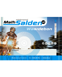 Math Salden gift voucher