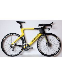 Wilier Turbine Ultegra Di2 disc-Yellow-Black-L/XL
