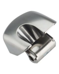 Shimano ST-6870 nameplate right-Silver