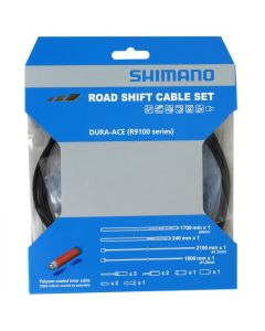 Shimano Polymeer OT-SP41/OT-RS900 derailleur cableset-Black